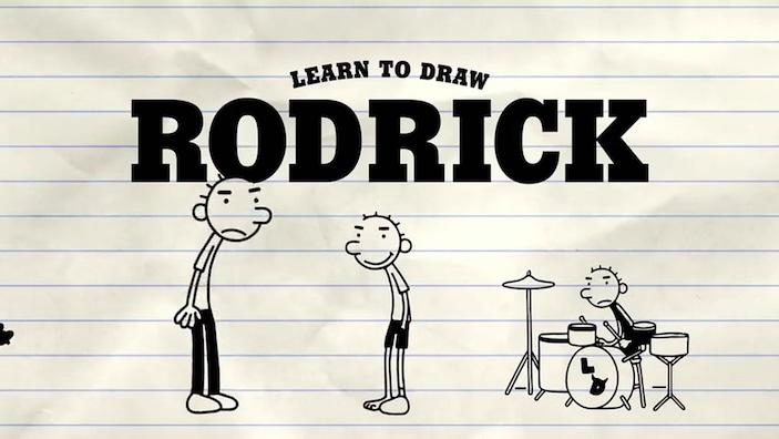 featurette learn to draw rodrick