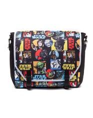 Star Wars MB111925STW Retro Characters Comic Style Messenger Bag