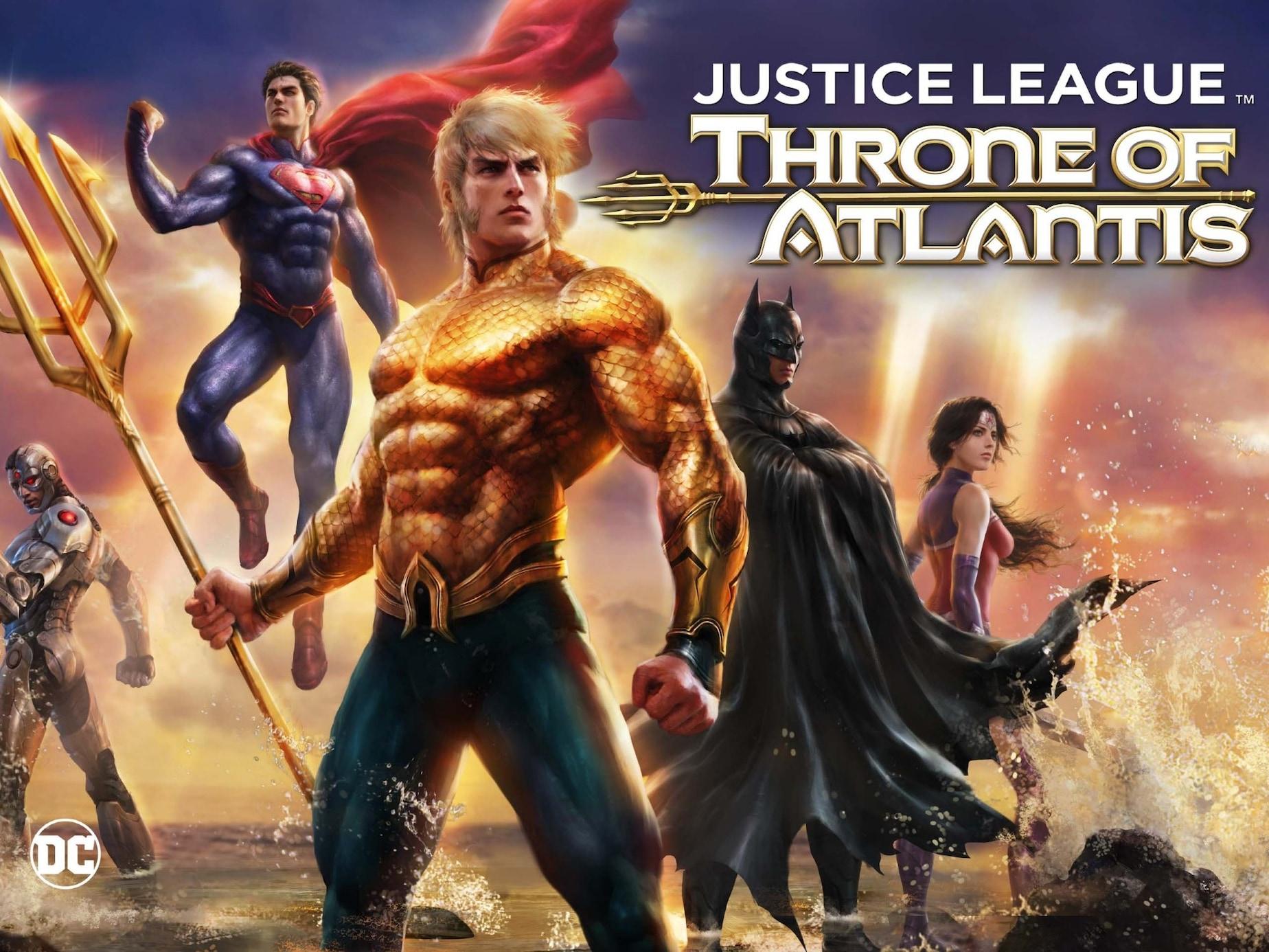 Justice League: Throne of Atlantis Full Movie - Watch Online, Stream